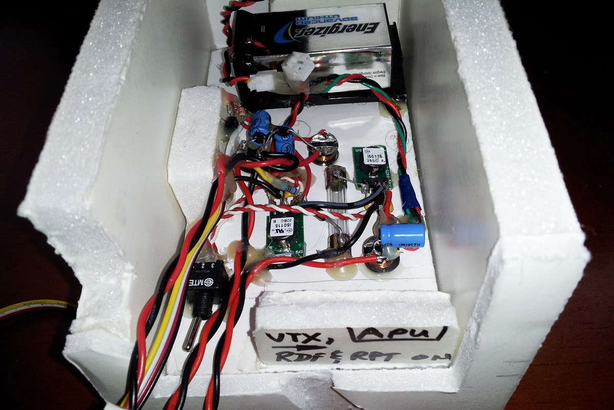 AZHAL-1 payload power distribution