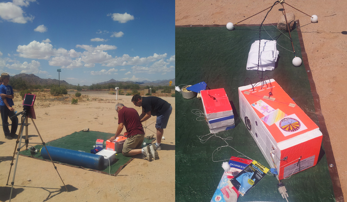 high altitude balloon launch preparation