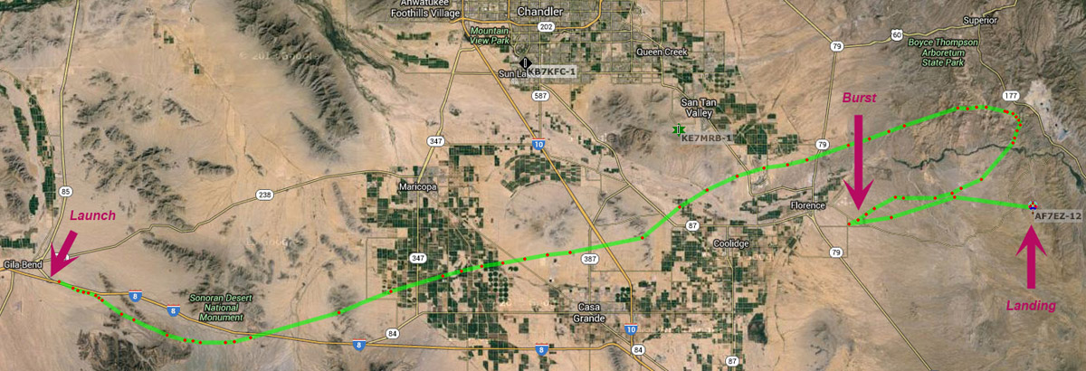 aprs amateur radio tracking map